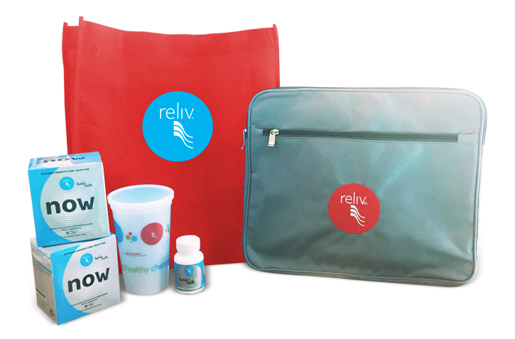 New Reliv Distributor Welcome Kit