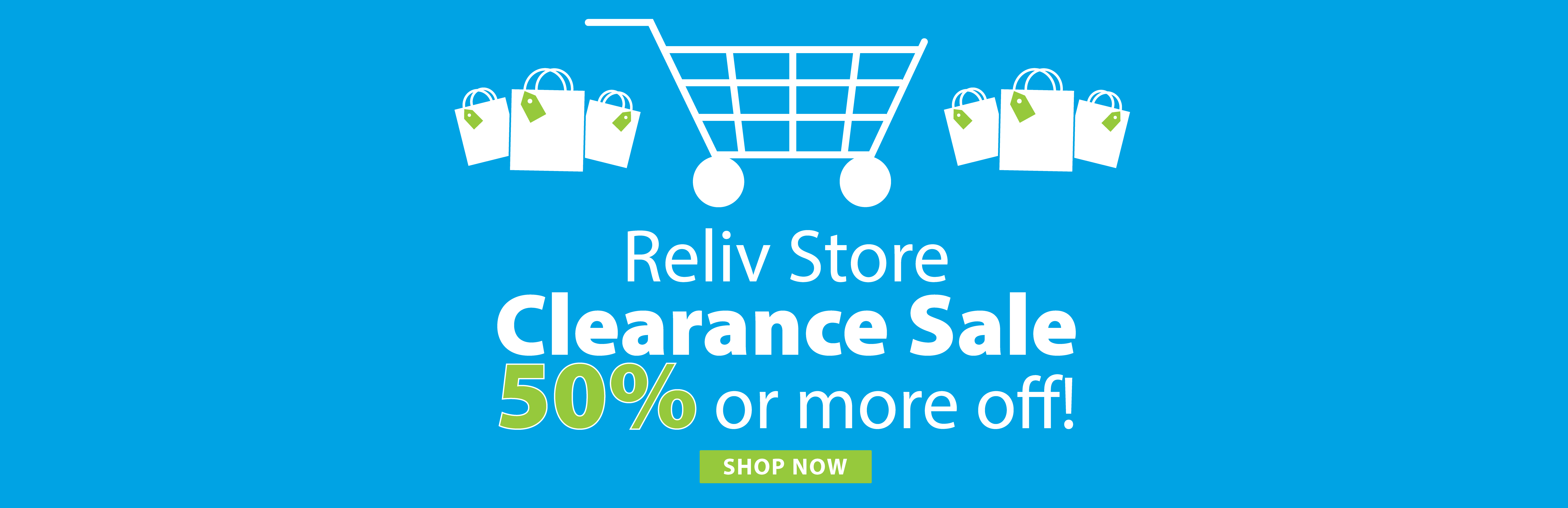 Reliv Store Clearance Sale