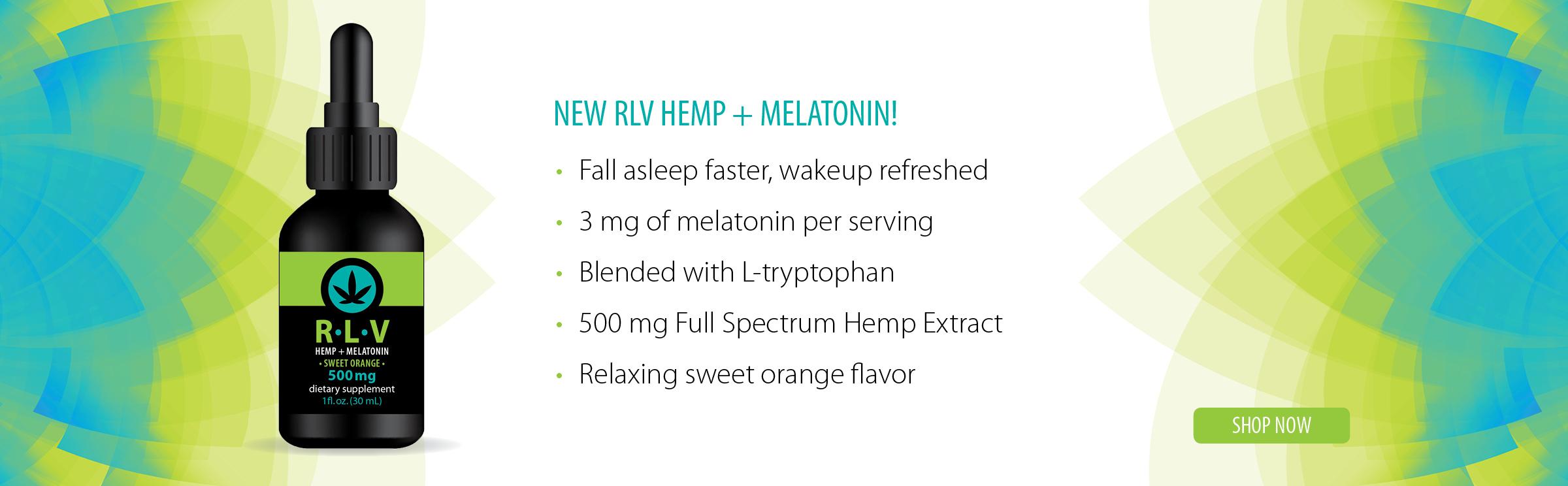 RLV Hemp + Melatonin