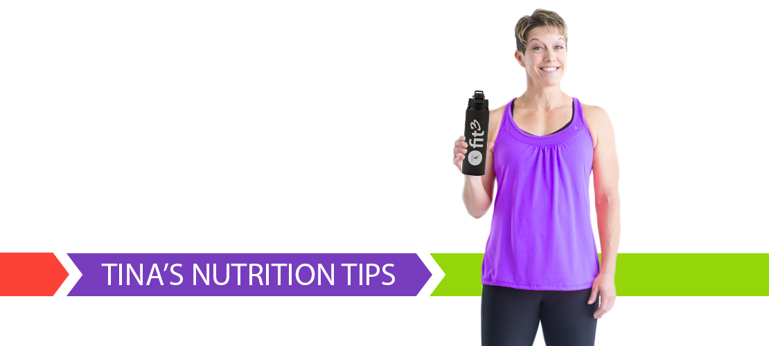 Tina's Nutrition Tips