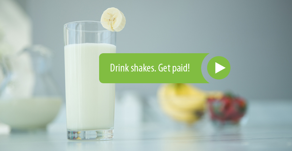 Drink shakes. Get Paid. (link to comp plan video)