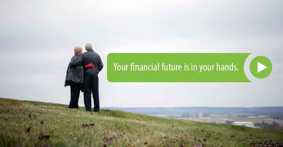 Your financial future is in your hands. (link to 'Income Producing Asset video')