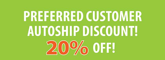 Autoship Discount